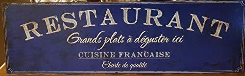 Antic Line Plaque Restaurant 50 * 15 cm