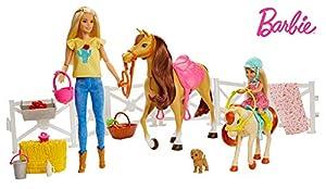 Barbie - Muñecas Barbie y Chelsea Con Caballos y Accesorios (Mattel FHX15)