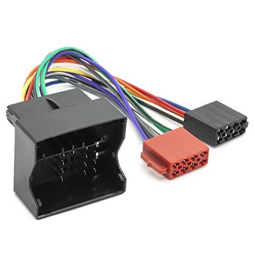 Universe Adaptateur de c/âble ISO Adaptateur radio Quadlock DIN pour BMW Mini Ford