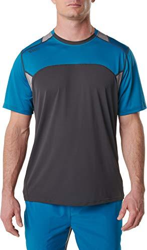 5.11 Tactical Series 511-82113 T-Shirt de Sport Homme, Volcanic, FR (Taille Fabricant : 2XL)
