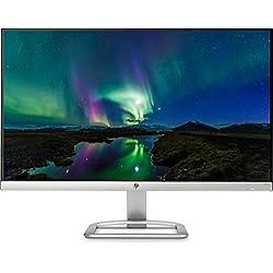 """HP 24ER - Monitor Full HD de 24"""" (LED, IPS, 1000:1), blanco"""