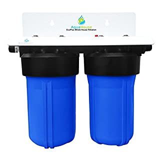 EcoPlus Whole House Water Filter System & Salt Free Water Softener Alternative, Proven 99.6% effective Scale Prevention