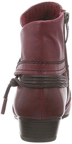 Tamaris 25091 Damen Kurzschaft Stiefel Mehrfarbig (Bordeaux 549)