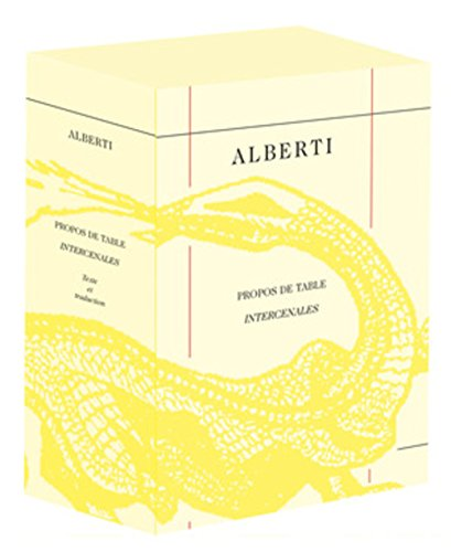 Propos de table / Intercenales par Leon Battista Alberti