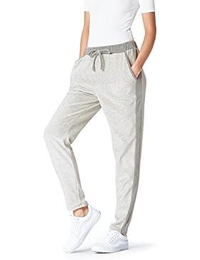 [Patrocinado]FIND Pantalones Estilo 'Jogger' de Terciopelo para Mujer