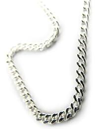 "Chaine Argent ""Maille Gourmette"" 55 cm 2. 1 mm"