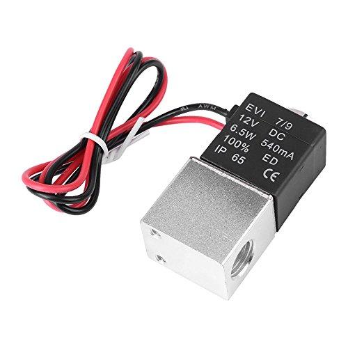 Rokoo DC12V / DC24V 2 Wege normalerweise geschlossenen elektrischen Magnetventil -