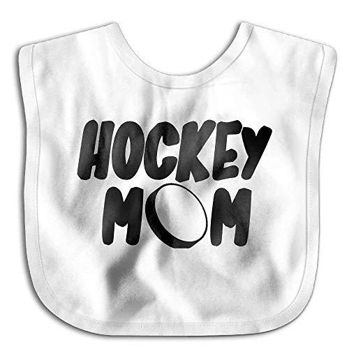 Unisex Baby Drool Bibs Hockey Mom Saliva Towel Toddler Bib Hockey-baby-bib