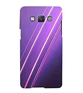 For Samsung Galaxy A5 (2015) :: Samsung Galaxy A5 Duos (2015) :: Samsung Galaxy A5 A500F A500Fu A500M A500Y A500Yz A500F1/A500K/A500S A500Fq A500F/Ds A500G/Ds A500H/Ds A500M/Ds A5000 infinity light, abstract backgrounds, purple background Designer Printed High Quality Smooth Matte Protective Mobile Case Back Pouch Cover by APEX