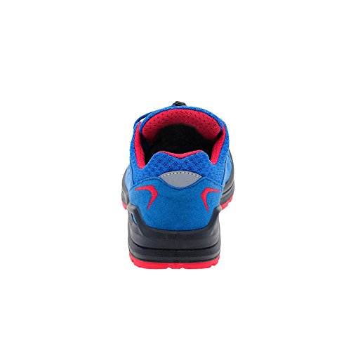 Bambini Lowa INNOX EVO LO JUNIOR 340132-6041 blu / rosso blau