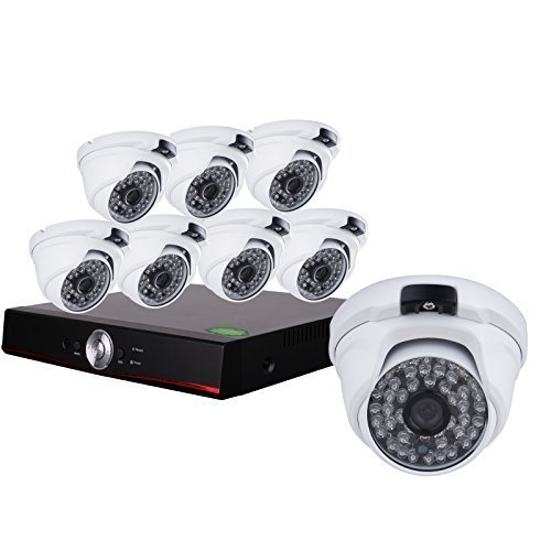 SW 8 CH 1080P AHD Video DVR Home Security System - 8 AHD 1080P 82 FT Night Vision 48ir LEDs Indoor/Outdoor Sicherheit Überwachung Kamera kein HDD -