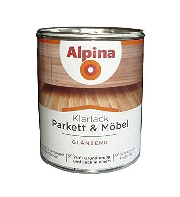 Alpina 300 ml Klarlack Parkett & Möbel Glänzend 2in1 Grundierung & Lack von Alpina - TapetenShop