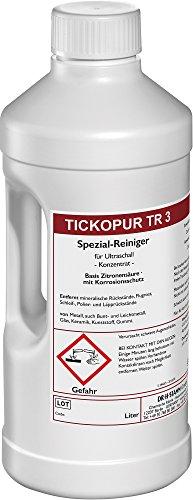 Ultraschallreiniger 2 LITER TICKOPUR TR 3 - Reinigungs-Konzentrat