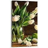 Cuadro sobre lienzo - de una sola pieza - Impresión en lienzo - Ancho: 55cm, Altura: 100cm - Foto número 2629 - listo para colgar - en un marco - PA55x100-2629