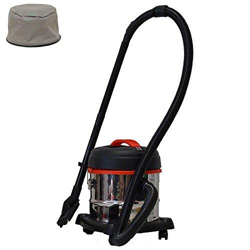 grafner® XL y húmedo aspirador 15litros 1200W con función de soplado recipiente de acero inoxidable multiusos Aspiradora en seco mojado seco