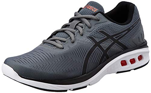 26. ASICS Men's Gel-Promesa Carbon/Black/Fiery Red Running Shoes-8 UK/India (42.5 EU)(9 US) (T842N.9790)
