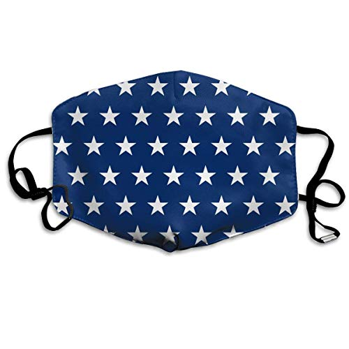 Gxdchfj US Naval Stars.png Washable Reusable Masks Respirator Comfy Protective Breath Healthy Safety Warm Windpro of Mask