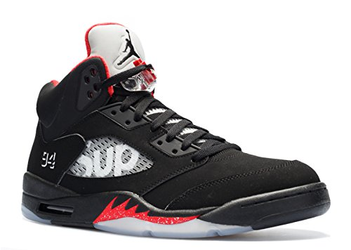 Nike Herren Air Jordan 5 Retro Supreme Turnschuhe
