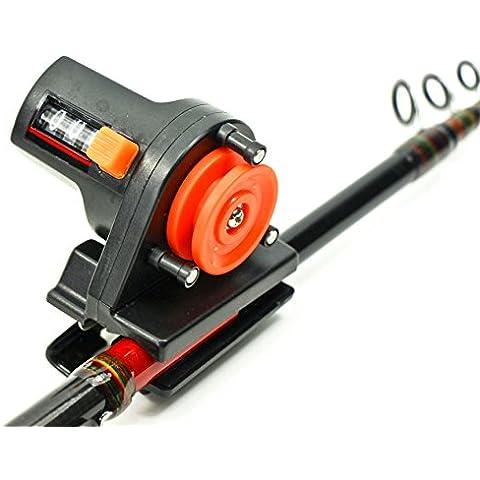 Contador de profundidad de sedal para caña de pesca o profundizador