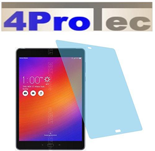 4ProTec 2 Stück GEHÄRTETE ANTIREFLEX Displayschutzfolie für Asus ZenPad Z10 ZT500KL Bildschirmschutzfolie (Akku-ladegerät Z10)