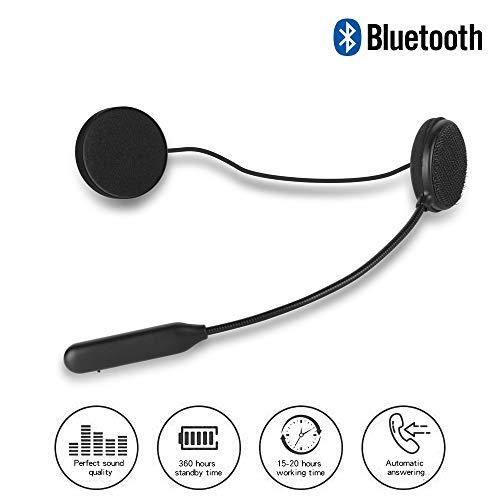 BLUEEAR Casque de Moto Bluetooth 4.2 Casque d'extérieur écouteurs stéréo Bluetooth Musique et Voix Micro câble Souple écouteur Casque de Moto Casque Casque Casque Universel système Audio
