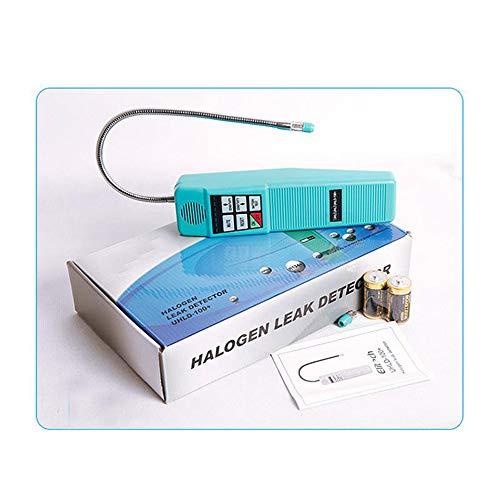 QWERTOUY Freon Halogen Kältemittelgas-Lecksucher Leck Halogen Analyzer Detector R134 HVAC Sensitivity-Tool -