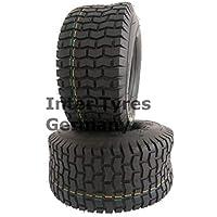 2 neumáticos 16 x 6,50-8 S2101 NaRubb 16 x 6,5-8 4PR para tractor cortacésped