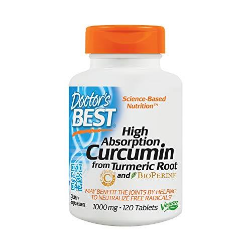 Doctor's Best | Complejo de curcumina C3 con BioPerine | 1000 mg...