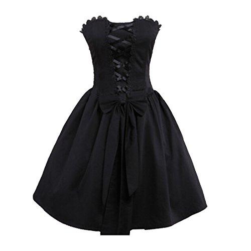 Partiss - Robe de chambre - Femme Noir - Noir
