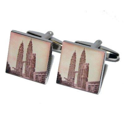 petronas-towers-kuala-lumpur-cufflinks