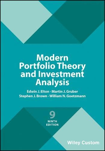 the modern portfolio theory