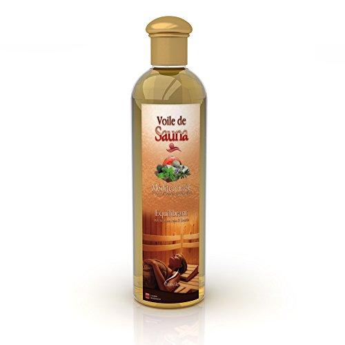 Camylle - Voile de Sauna - Saunaduft aus reinen ätherischen Ölen – Méditerranée - Ausbalancierend – 250ml