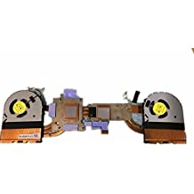 Disipador de calor y ventilador para ordenador portátil Dell M17X R5at1g1002fc0dfs200805000t fg7a fg7909634N 9634N
