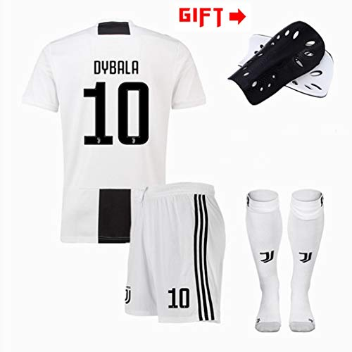 more photos 70a18 5460c HWHS316 Fußball T-Shirt Sportanzug Real Juventus F.C. Jersey 10. Paulo  Dybalafootball Sportswear Erwachsene Und Kinder Fußball Boy  T-Shirt,S165~170CM