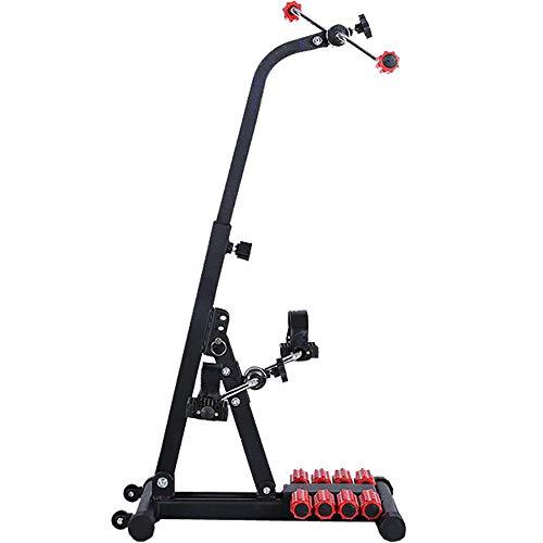 Heimtrainer- Übung Pedale Low Impact Bike Trainingsgerät für Arme Beine - Oberkörper, Unterkörper und Cardio gleichzeitig trainieren