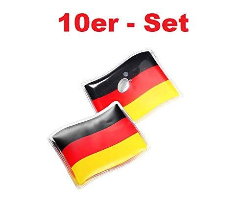 V Produkte 10 x Handwärmer Taschenwärmer Gelkissen Deutschland wiederverwendbar