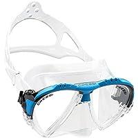 Cressi Matrix Maschera Subacquea, Trasparente/Blu - Plastica Trasparente Inserti
