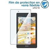KARYLAX Protection d'écran Film en Verre Nano Flexible Dureté 9H, Ultra Fin 0,2mm et 100% Transparent pour Tablette Archos 70 Oxygen 7 Pouces
