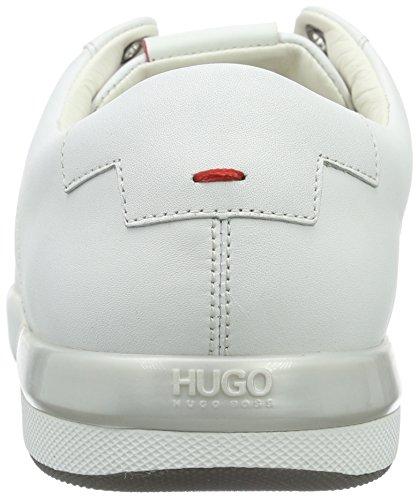 Hugo Fusion Tenn Ltma 10191221 01, Baskets Basses Homme Blanc (White 100)