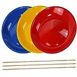 3 pièce assiettes chinoises de plusieurs couleurs à un prix exceptionnel, car fournies directement par le fabriquant !Baguette en bois ou en plastique incluse(Il y a autant de baguettes que d'assiettes commandées. Cependant si une seule assiette est ...