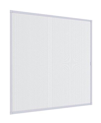 Windhager 140x150cm weiß Insektenschutz Expert Spannrahmen Fliegengitter Alurahmen für Fenster, 140 x 150 cm, 03997