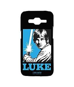 Licensed Star Wars Luke Skywalker Premium Printed Back cover Case for Samsung J2 (2016)