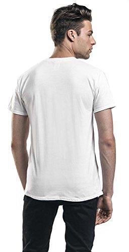 Spider-Man Logo T-Shirt weiß Weiß
