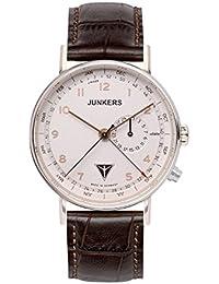 Junkers Herren-Armbanduhr Analog Quarz Leder 67344