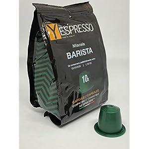 100 capsule compatibili NESPRESSO BARISTA new 10 spesavip