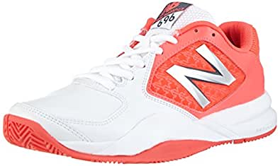 New Balance  WC696 B V2, Baskets de tennis femme - Rose - Pink (PW2 PINK/WHITE), 42.5 EU