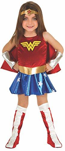 Mädchen Wonder Woman Kostüm (Deluxe Wonder Woman Kostüm)