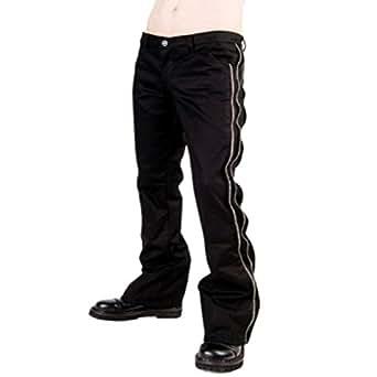 Aderlass Zip Pants Denim DE Black (Größe 40)