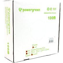 Powergreen - Bobina de cable cat 6 utp 100 metros flexible caja