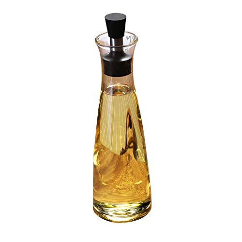 CL- Ölflasche - kreativer, auslaufsicherer Ölöltopf, Gewürzflasche, Flasche, Sojasauce, Essig und Olivenöl usw. (größe : 500ml)